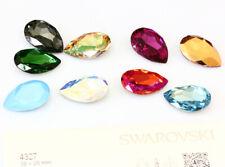 Genuine SWAROVSKI 4327 Pera Fancy Pietra Cristalli Strass 30mm * Molti Colori