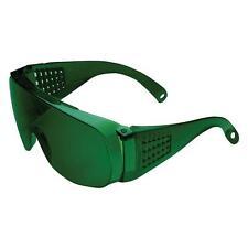 Unispec II Safety Glasses Eyewear Dk.Green 3.0,5.0 LENS Goggle Fits over glasses