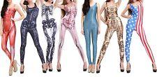 Fetziger ossatura, muscoli, SIRENA, Cleopatra, Stati Uniti Catsuit Carnevale Carnevale
