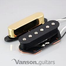 Nuevo Vanson Vintage 50's Alnico V Tele ® Pastillas Para Fender ® Telecaster ® * Vca Gd