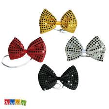 Papillon Pailette paillette Party clown pagliaccio accessori festa carnevale