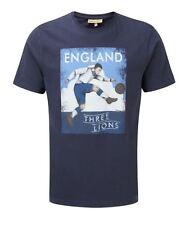 Vintage Retro England Football t shirt 3 three lions Free P&P! Sizes S-XL