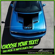 2015 and up Dodge Challenger R/T SRT8 Scat Pack Hood Stripes Graphics Decals 7