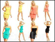Cóctel Mini Vestido Para Mujer ~ Party y Eventos ~ Talla S, M y L