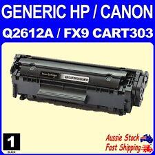 Generic HP 12A Q2612A Canon FX9 CART303 Black Toner for HP Laserjet 1010 M1005