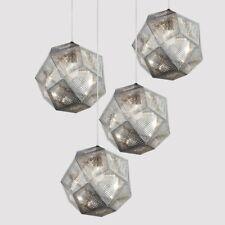 Bar Pendant Light Kitchen Chandelier Lighting Bedroom Lamp Silver Ceiling Lights