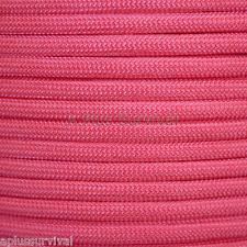 Pink Paracord 50 Feet 550 lb 7 Strand Emergency Survival Bracelet