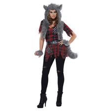 Womens She-Wolf Monster Halloween Costume