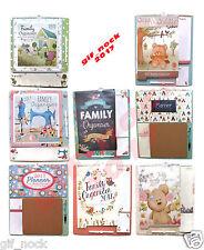 2017 Family Organiser Planner Memo Pads,Pen & Shopping List Tallon Home Calendar