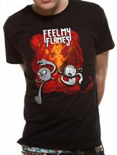 3097 Feel My Flames T-Shirt Adventure Time Finn Jake Princess Bubblegum Ice King