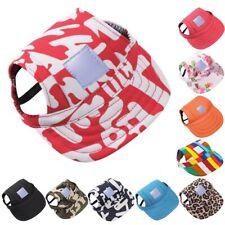 Casual Pet Dog Cat Baseball Cap Summer Outdoor Puppy Visor Hat Comfort Sunbonnet