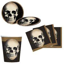 Fiesta Halloween Paquete Boneyard Esqueleto Gótico Casa Encantada Vajilla