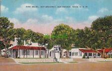 Postcard Park Mo-Tel San Antonio Texas TX