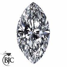 Loose naturale estratto Marquise eccellente taglio a brillante Diamanti Diamante Bianco