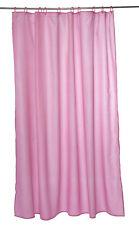 Waterproof Fuchsia Bathroom Shower Curtain 180 x 180cm 1 5 or 10 Hotel Bundle