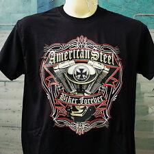 T-Shirt,M-5XL,Plus Size,Übergröße,Twin Cam, Harley,Chopper,Motor,Biker Forever
