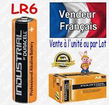 Piles LR6 LR06 AA DURACELL INDUSTRIAL MN1500 Alcaline x 1 2 4 8 10 20 30 40 50