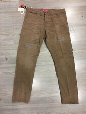Dirty Page pantalone uomo modello renoir art. AI6UDP4024 col. fango