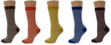 Sierra Socks Women's Cotton Outdoor Boot Hiking Casual Socks 2 Pair Pack W33