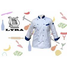 Giacca cuoco euro doppiopetto Lyra srl