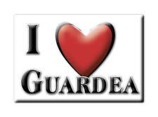 CALAMITA UMBRIA ITALIA FRIDGE MAGNET MAGNETE SOUVENIR I LOVE GUARDEA (TR)