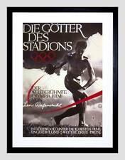 SPORT politico Film OLYMPIA Leni Riefenstahl Germania Framed Art Print b12x1088