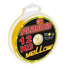 (0,15€/m) WFT Plasma Yellow rund geflochtene Angelschnur 150m Farbecht Meeressch