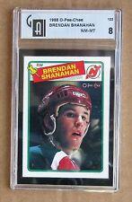 Red Wings Brendan Shanahan Rookie 1988-89 OPC # 122 - GAI 8.0 NM-MT !