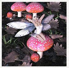 Fairy, The Forest Floor, Fairy waking from sleep - Fabric Cushion Craft Panel