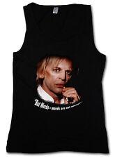 But words-words are not enough... donna Tank Top Klaus Kinski Retrò Nosferatu