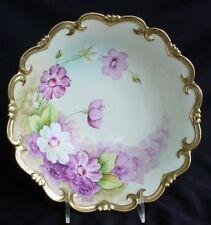 Fine Hand Painted Vienna Porcelain Center Bowl Signed!