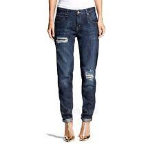 Womens Mossimo Boyfriend Denim Deconstruct Jeans NWOT A140