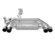 Akrapovic M-BM/T/4H Slip-On Line Titanium for 11-12 BMW 1 Series M Coup w/o tips