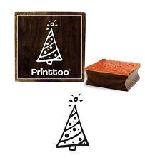 Artisanat Textile Arbre De Noël Timbre En Caoutchouc Bois Scrap-Réservation
