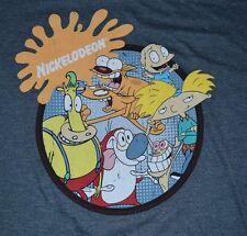 Nickelodeon Character Adult Tee Catdog Ren Stimpy Heffer Rugrats Hey Arnold