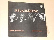 Prague City Quartet - Bela Bartok LP