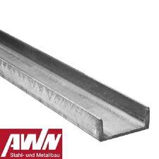 1m-6m U-Profil Typ UNP U-Stahl Oberflächen: Roh, grundiert, feuerverzinkt