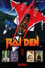 187689 RAIDEN Retro Game Tecmo MAME Arcade Atari Jaguar Wall Print Poster CA