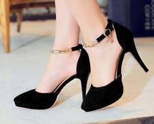 Decolté decolte scarpe stiletto donna nero oro tacco spillo 11 cm 8608