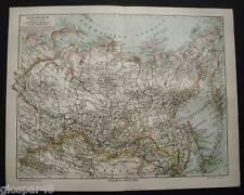 1897.Orig. Xilo-GeoTopografica_SIBERIA- RUSSIA ASIATICA