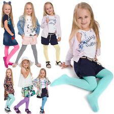 jeunes filles colorées coton doux Collant confortable sans couture enfants âge