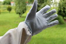 Top Imkerhandschuhe mit Schutzärmeln, echtes Lammnappa - Leder:weich und kräftig