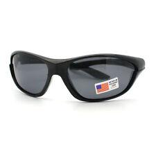 Mens Polarized Sunglasses No Glare Sports Wrap Fashion Shades
