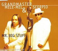 GRANDMASTER MELE-MEL & SCORPIO - Mr Big Stuff (UK 3 Tk CD Single)