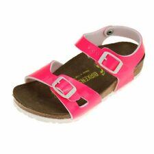 Birkenstock Rio Girls Neon Pink Sandal