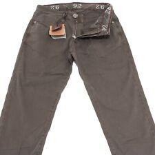 40600 pantaloni brown 9.2 jeans uomo trousers men CHIONNA CARLO