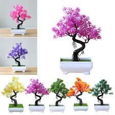 1pc Artificial Plant Bonsai Tree Fake Plant Simulation Pine Tree Home Decoration