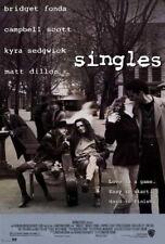 65515 Singles Movie Matt Dillon, Bridget Fonda Wall Print Poster CA