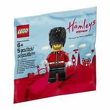Lego exclusivo Hamleys London Royal Guard Bolsa De Polietileno figura, Bestprice + regalo-Nuevo