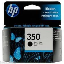 HP No 350 Black Original OEM Inkjet Cartridge CB335EE Deskjet